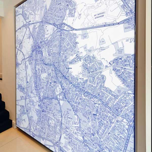 Wall Maps | Kremer Illuminated Maps on